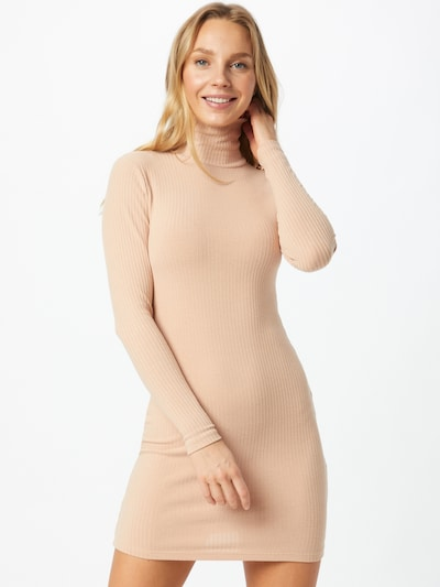 Miss Selfridge Kleid in camel, Modelansicht