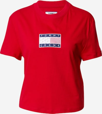 Tommy Jeans T-Shirt 'Star Americana' in creme / blau / marine / rot / weiß, Produktansicht