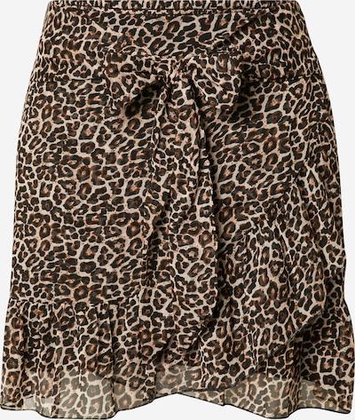 Neo Noir Skirt 'Bella' in Cream / Dark brown / Black, Item view