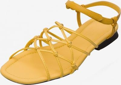 CAMPER Sandale ' Casi Myra ' in gelb, Produktansicht