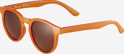 Part Two Sonnenbrille 'Hamda' in braun / orange, Produktansicht