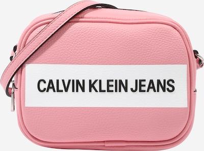 Calvin Klein Jeans Sac à bandoulière en rose / noir / blanc, Vue avec produit
