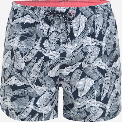 TOM TAILOR Plavecké šortky 'Collin' - námořnická modř / pink / bílá, Produkt