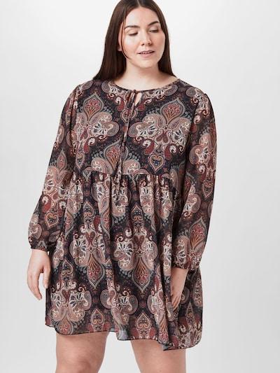 Z-One Kleid 'Rita' in mischfarben, Modelansicht
