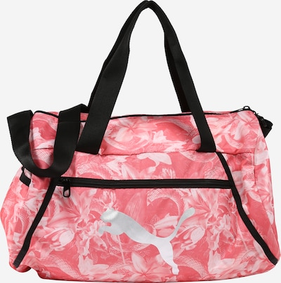 PUMA Sports bag 'Pearl' in Salmon / Black / Silver / White, Item view
