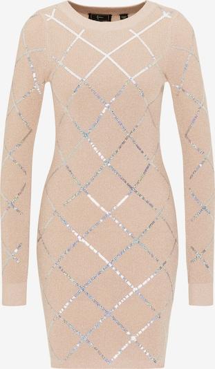 faina Pletena haljina u svijetloroza / srebro, Pregled proizvoda