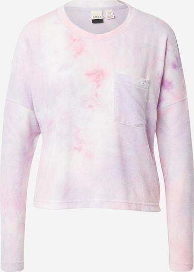 ROXY Majica 'SUNSHINE SPIRIT' | roza / bela barva, Prikaz izdelka