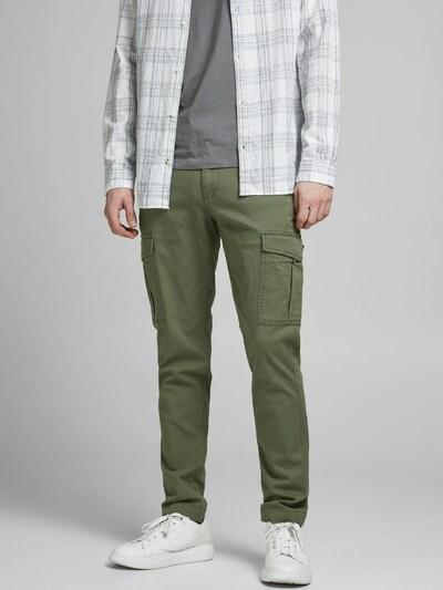 JACK & JONES Pantalón cargo 'Marco Joe AKM' en caqui, Vista del modelo