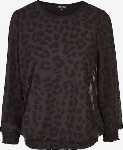 Vestino Shirt in braun / schwarz, Produktansicht