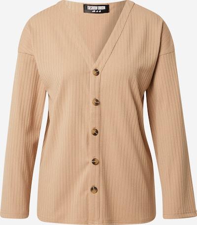 Fashion Union Cárdigan 'BRYONY' en beige oscuro, Vista del producto