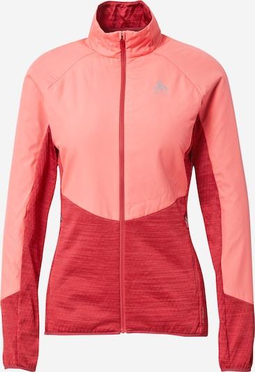 ODLO Athletic Jacket in Melon / mottled red, Item view