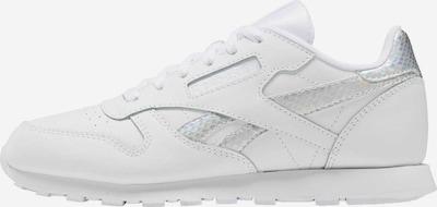 Reebok Classic Sneaker in silber / weiß, Produktansicht