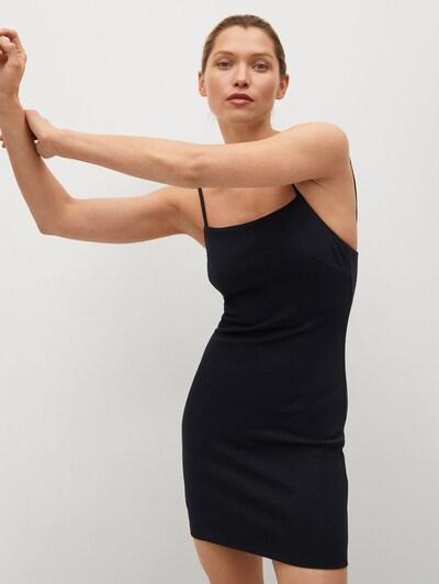 MANGO Kleid 'NUVERTU1' in schwarz, Modelansicht