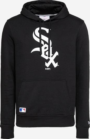 NEW ERA Sweatshirt in schwarz / weiß, Produktansicht