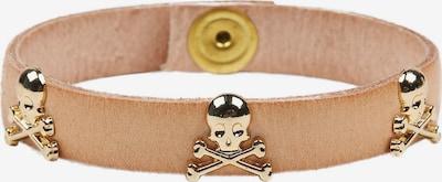 Scalpers Armband in beige / gold, Produktansicht