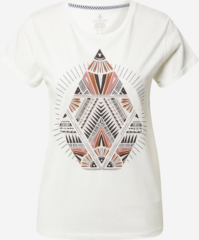 Volcom T-shirt 'RADICAL DAZE' en mélange de couleurs / blanc, Vue avec produit