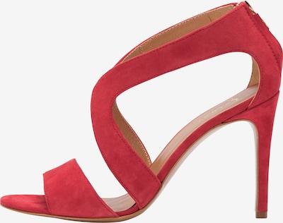 faina Sandalen met riem in de kleur Rood, Productweergave
