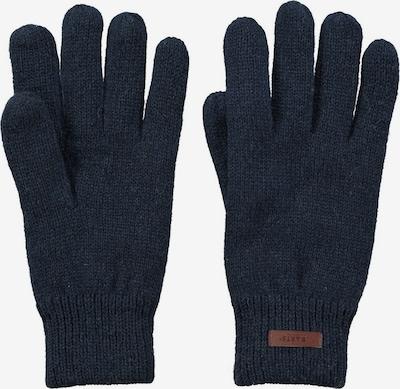 Barts Handschuhe in dunkelblau / braun, Produktansicht