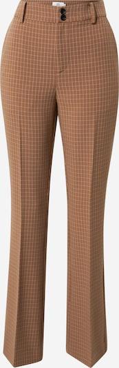Noa Noa Pantalon à plis en marron / blanc, Vue avec produit