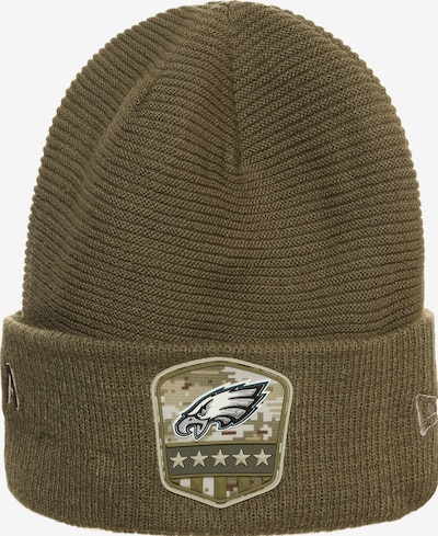 NEW ERA Muts 'NFL Philadelphia Eagles Salute To Service' in de kleur Olijfgroen, Productweergave