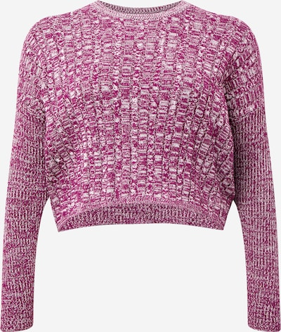 Cotton On Curve Pull-over 'Riley' en violet chiné, Vue avec produit