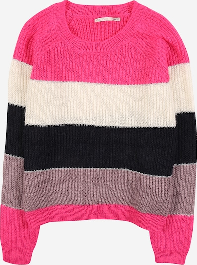 KIDS ONLY Sweater 'MALONE' in pink / dusky pink / black / white, Item view