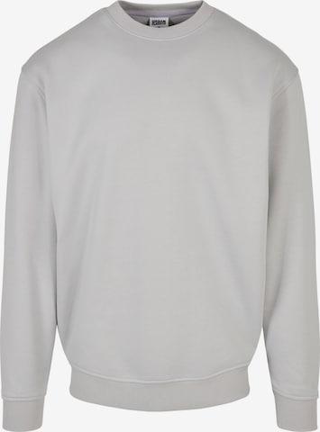 Sweat-shirt Urban Classics Big & Tall en gris