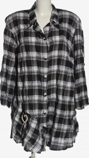 Sempre Piu Holzfällerhemd in 6XL in schwarz / weiß, Produktansicht