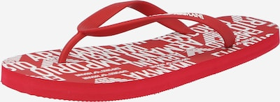 Emporio Armani Japonki w kolorze czerwony / białym, Podgląd produktu