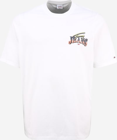 Tommy Jeans Plus Paita värissä sekavärit / valkoinen, Tuotenäkymä