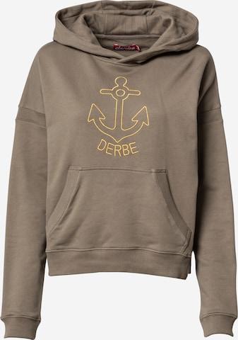 Derbe - Sudadera 'Gold Anchor' en gris