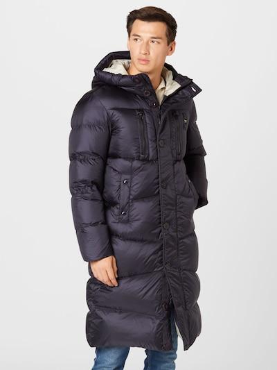 Blauer.USA Zimný kabát - tmavomodrá, Model/-ka