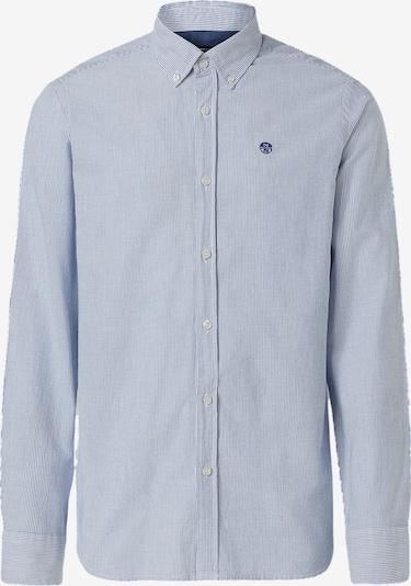 North Sails Baumwollhemd in blau / weiß, Produktansicht