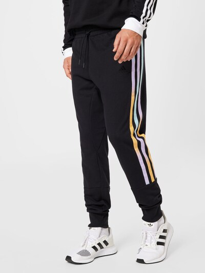 ADIDAS PERFORMANCE Športové nohavice - svetložltá / čierna / biela, Model/-ka