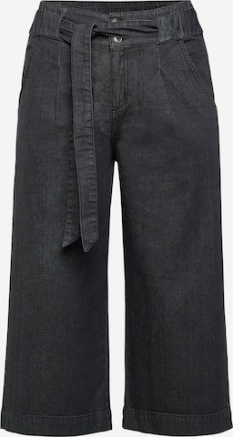 SHEEGO Pleated Jeans in Black