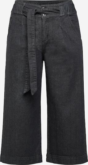 Pantaloni cu cute SHEEGO pe negru denim, Vizualizare produs