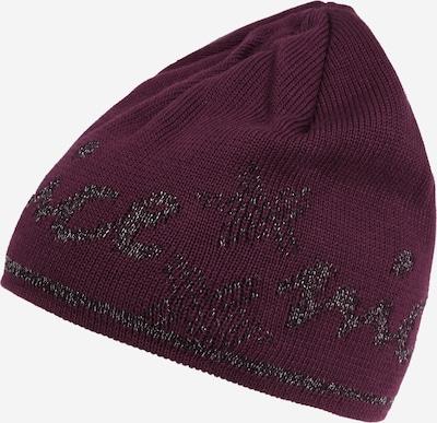 MAXIMO Mütze in dunkelgrau / pflaume, Produktansicht