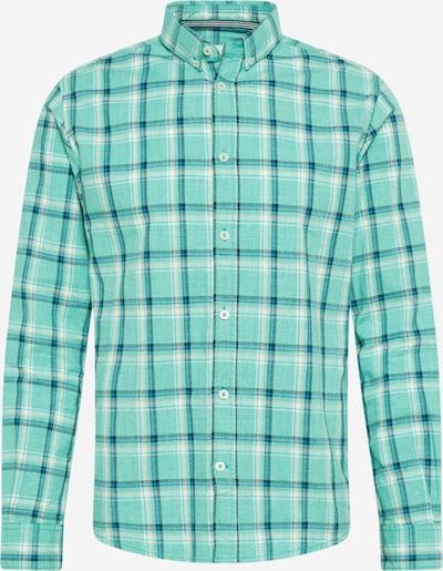 TOM TAILOR Hemd in beige / himmelblau / dunkelblau / jade, Produktansicht