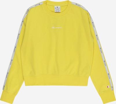 Champion Authentic Athletic Apparel Sweatshirt in de kleur Geel / Wit, Productweergave