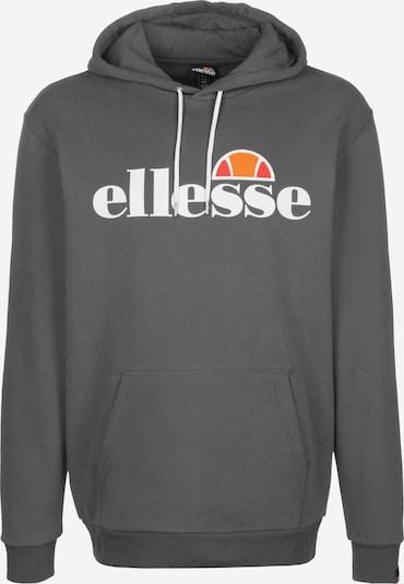 ELLESSE Hoodie 'Gottero' in grau / weiß, Produktansicht