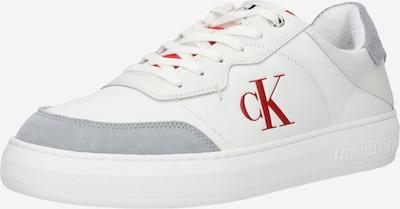 Calvin Klein Sneaker in grau / rot / weiß, Produktansicht