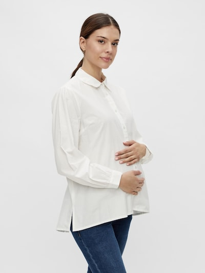 MAMALICIOUS Umstandshemd 'NANNA' in weiß, Modelansicht