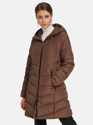 Basler Winter Coat in Brown
