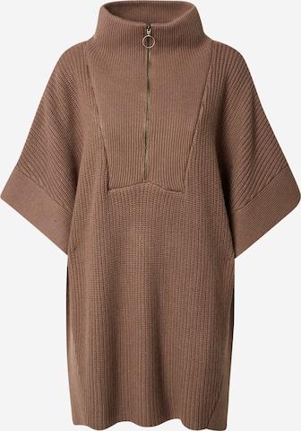 mbym Pullover 'Tudor' in Braun