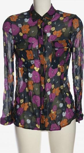 Custommade Langarmhemd in XS in khaki / lila / hellorange, Produktansicht