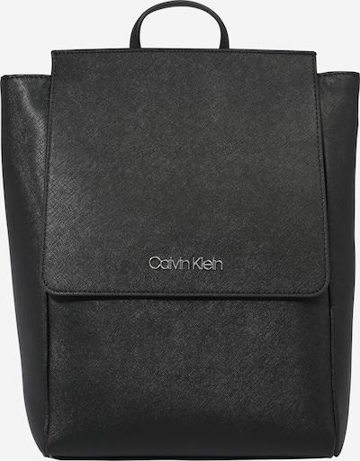 Calvin Klein Sac à dos en noir / blanc, Vue avec produit