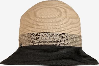 LOEVENICH Kleiner Bucket Hut ' Tropical Fever ' in schilf / schwarz, Produktansicht