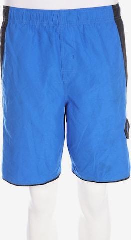 NIKE Sport-Shorts in 31-32 in Blau
