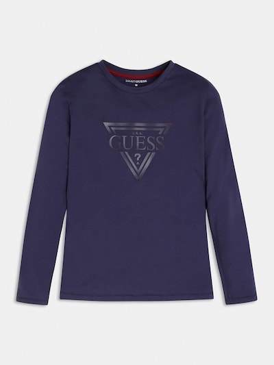 GUESS KIDS Shirt in dunkelblau, Produktansicht