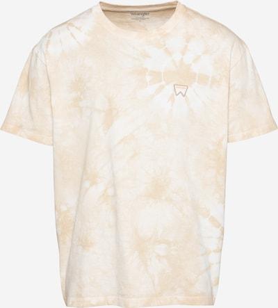 WRANGLER T-Shirt in beige / weiß, Produktansicht